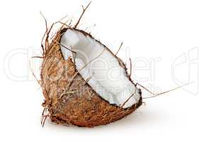 Half coconut rotated