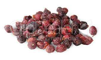 Heap Of Dry Rosehip Fruit