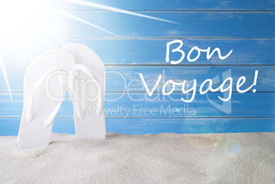 Sunny Summer Background, Bon Voyage Means Good Trip