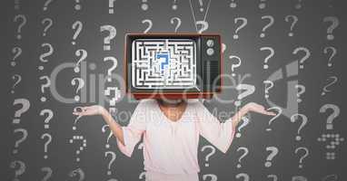 Girl question, tv head.