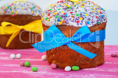Christian pastry for Easter