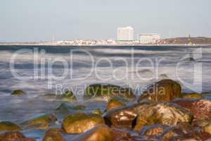 Steine an der Küste der Ostsee