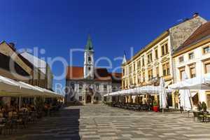 Varazdin main square, Croatia