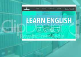 Learn English App Interface