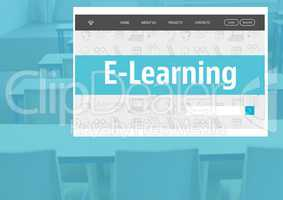 E-Learning App Interface