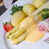 delicious asparagus