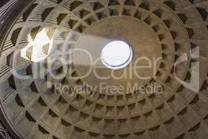 Interior of the roman Pantheon