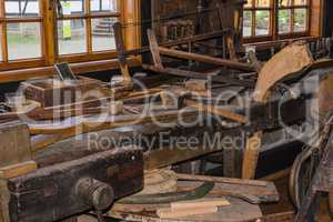 Alte Schreiner Werkstatt