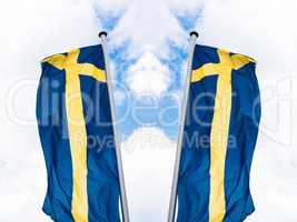 Schwedische Landesfahne