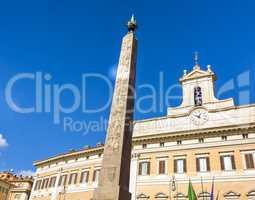 Montecitorio in Rome