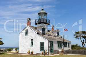 Point Pinos Lighthouse.