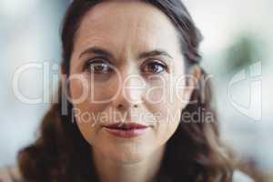 Close-up of executive