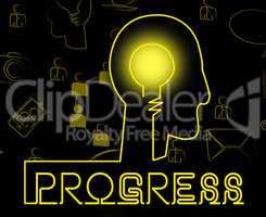 Progress Brain Shows Betterment Headway And Advancement