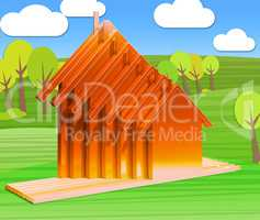 Buying A Home Meaning House Purchases 3d Rendering