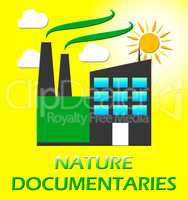 Nature Documentary Represents Environment Video 3d Illustration