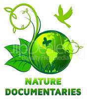 Nature Documentary Shows Environment Video 3d Illustration