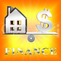 Finance Icon Meaning Financial Investment 3d Rendering