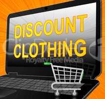 Discount Clothing ShowisCheap Clothes 3d Illustration