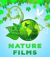 Nature Films Scenic Natural Outdoors Movies 3d Illustration