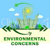 Environment Concerns Design Shows Nature 3d Illustration