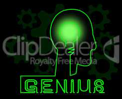 Genius Brain Meaning Specialist Solve And Guru