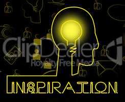 Inspiration Brain Indicates Positive Motivate And Motivation