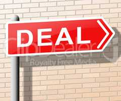 Deal Meaning Best Price Goods 3d Illustration