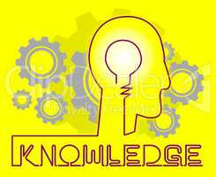 Knowledge Cogs Showing Know How And Wisdom