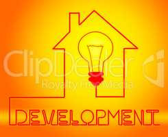 Development Light Means Growth Progress And Evolution