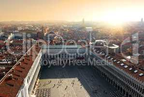 Top view of Piazza San Marco