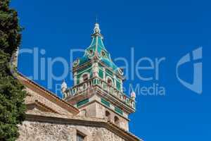 Blick auf das Kloster von Valldemossa