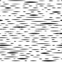 Abstract irregular blot seamless pattern. Black and white stripe