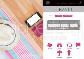 Travel Holiday break App Interface