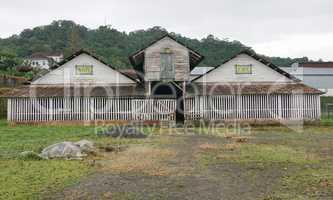 Ehemalige Plantage Monte Cafe, Sao Tome und Principe, Afrika