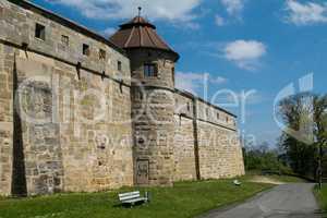 Außenmauer Altenburg