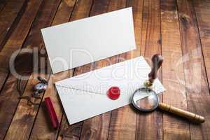 Vintage postal accessories