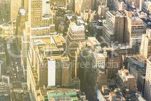Midtown skyscraper buildings