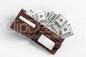 Dollars in wallet