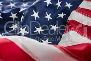 Full frame of American flag