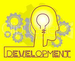 Development Cogs Meaning Growth Progress And Evolution