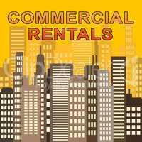 Commercial Rentals Describes Real Estate Offices 3d Illustration