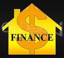 Finance Icon Representing Financial Investment 3d Illustration