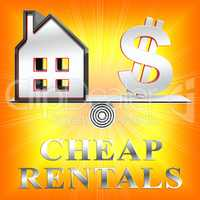 Cheap Rentals Means Low Cost 3d Rendering