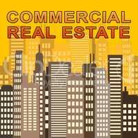 Commercial Real Estate Means Offices Sale 3d Illustration