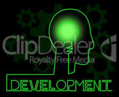 Development Brain Meaning Growth Progress And Evolution