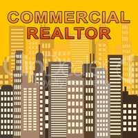 Commercial Realtor Describes Real Estate Offices 3d Illustration