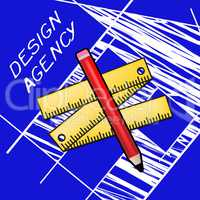Design Agency Meaning Creative Artwork 3d Illustration