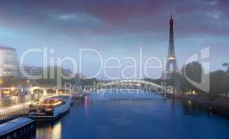 Early morning on Seine