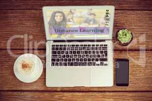 Composite image of composite image of online courses