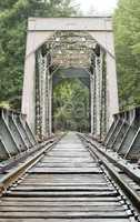 Old Train Trestle Bridge.